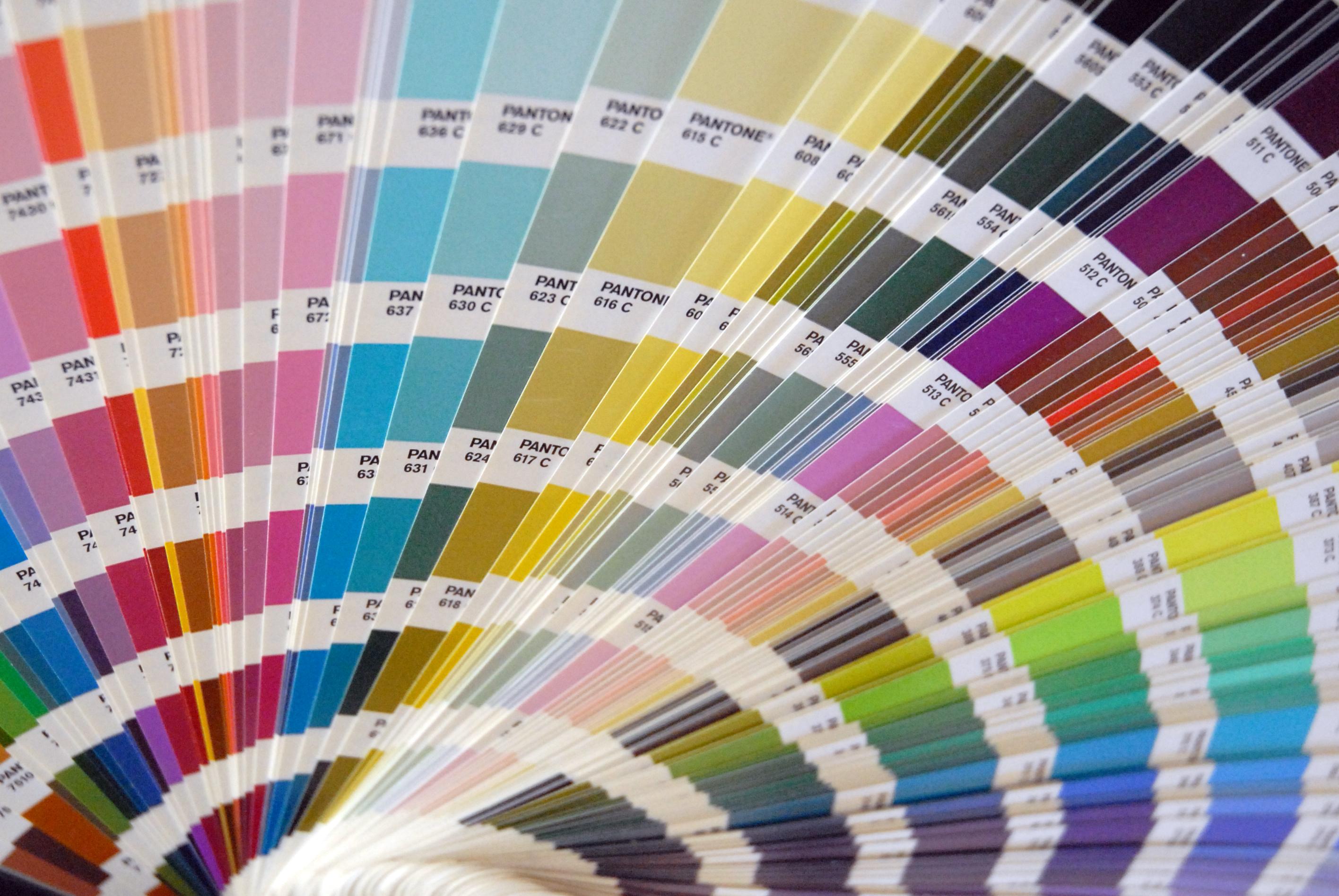 Wedding Invitation Colour Palette Pickers
